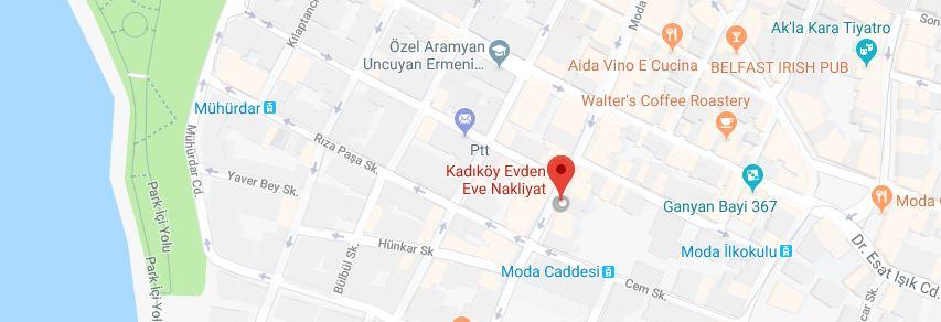 kadıköy map